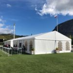 Двускатный шатер 10х10