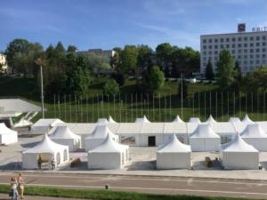Прокат тентовых павильонов для ярмарок
