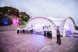 аренда свадебного шатра в Краснодаре